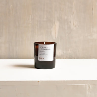 Lavender + Cedarwood | 100% soy wax candle | Small
