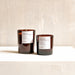 Clary Sage + Orange + Rosemary | 100% soy wax candle | Small & large