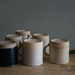 Handmade studio potter mugs