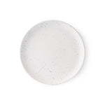 Speckled White Breakfast / Cake Plate