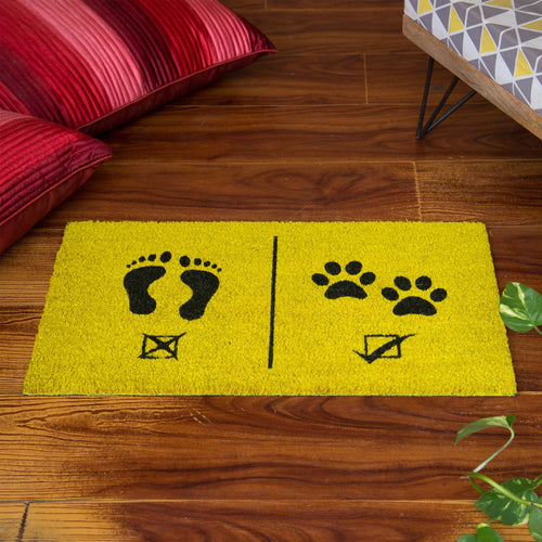 'Humans Not Allowed' Doormat