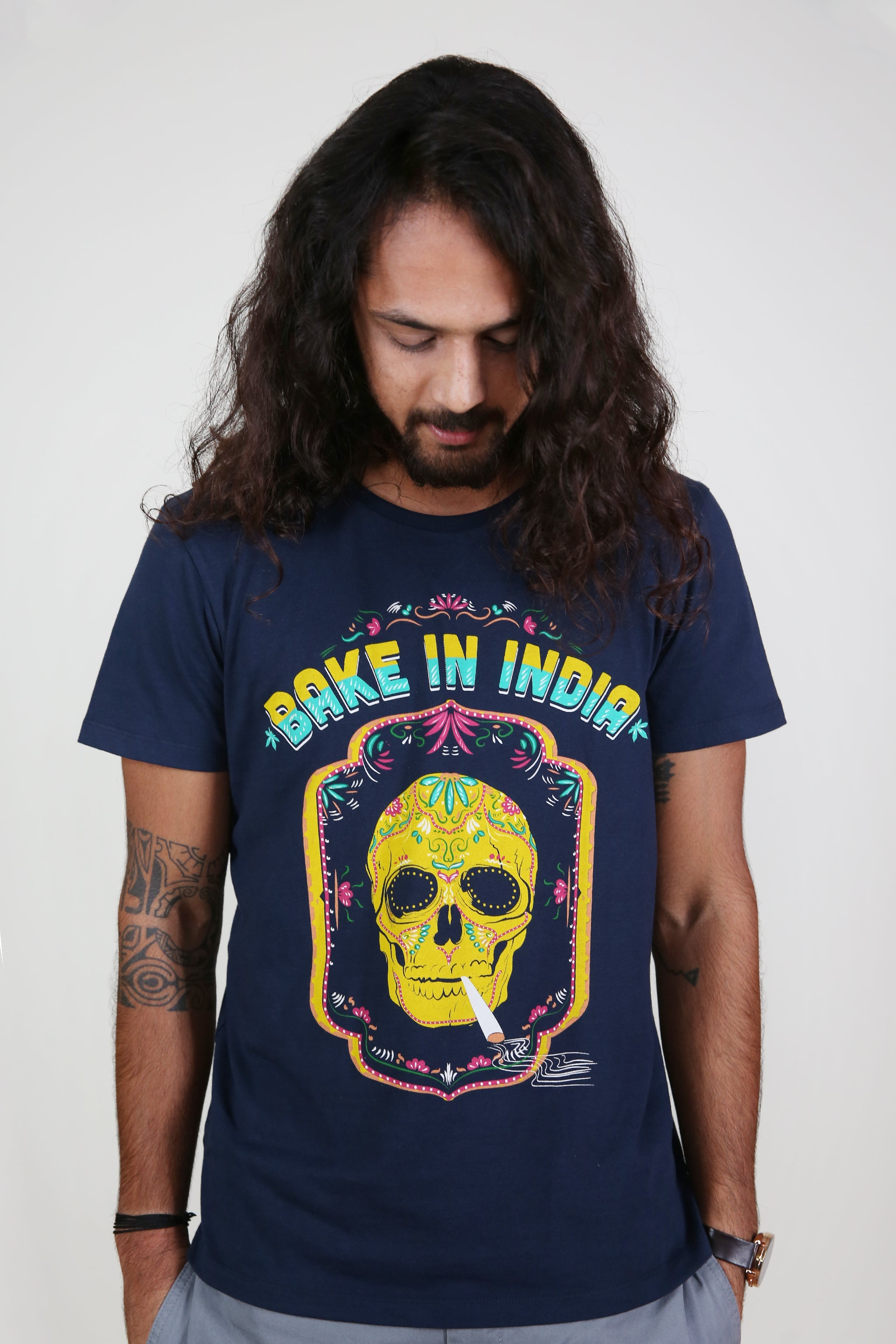 Bake in India Men's T-Shirt