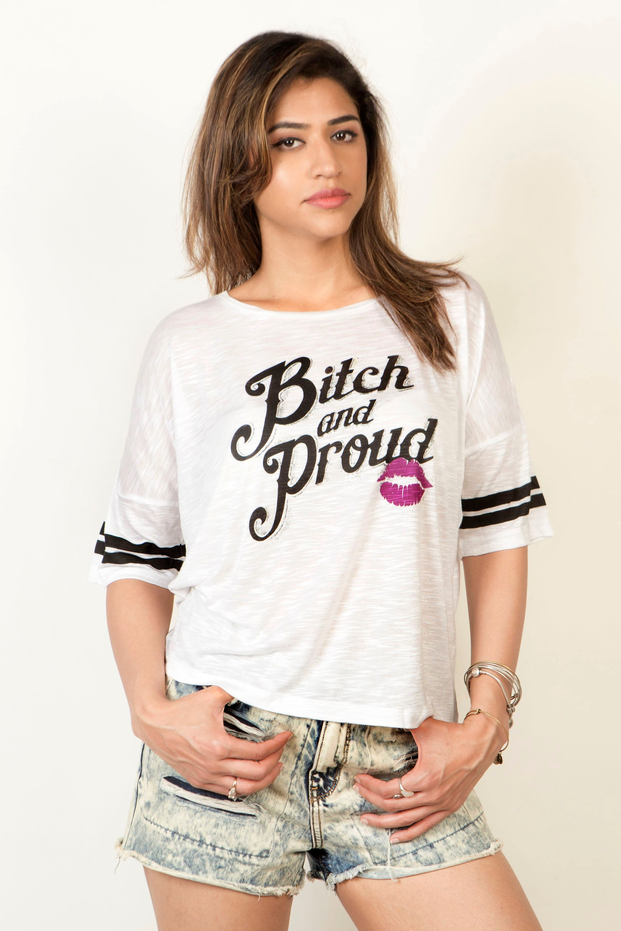 Buy Bitch And Proud Women's T-Shirt Online In India