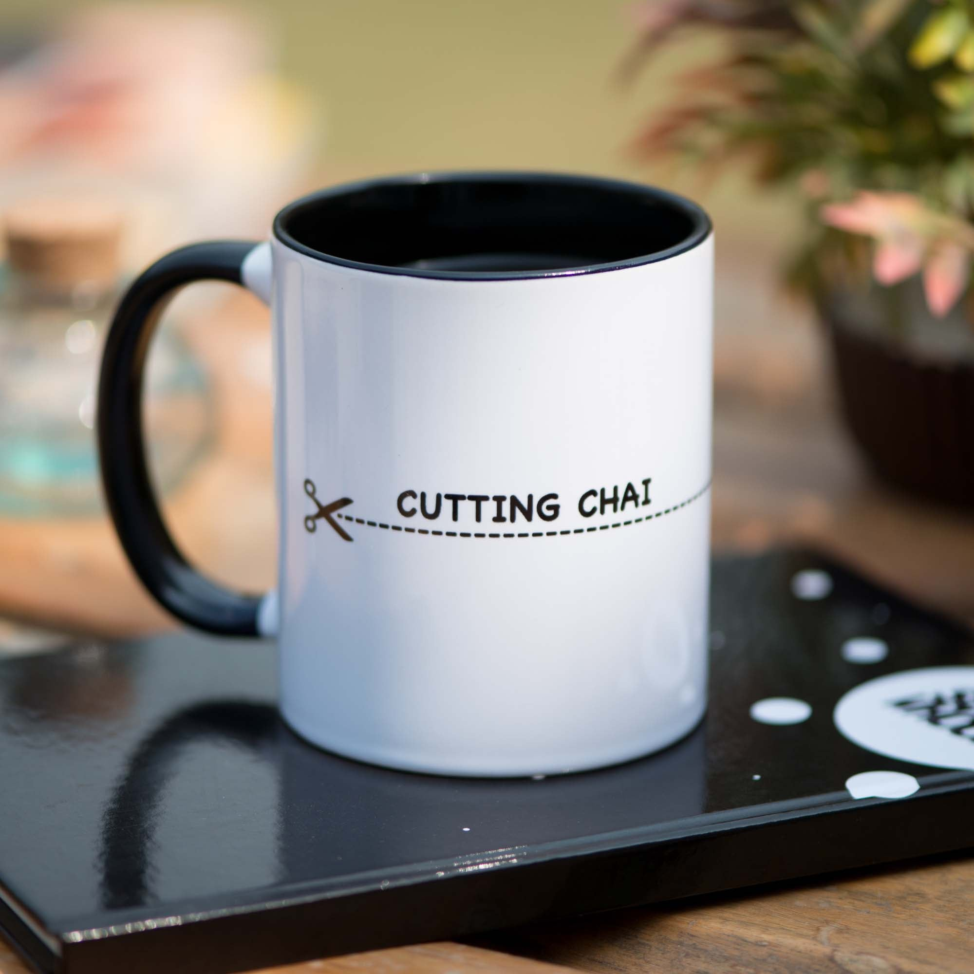 'Cutting Chai' Mug