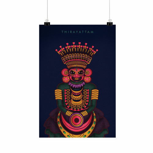 Thirayattam | Wall Art