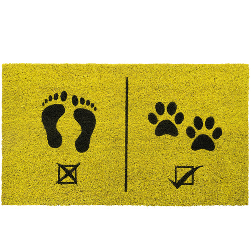 Humans Not Allowed Doormat