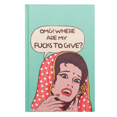 'No Fucks To Give' Notebook