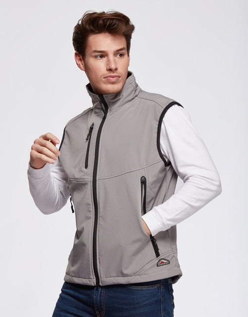 Gilet technique softshell homme CARBONE