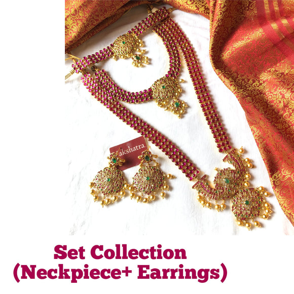 Set collections (Neckpiece + earrings)