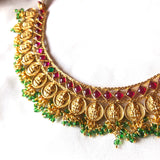 Matt Gold Lakshmi choker set