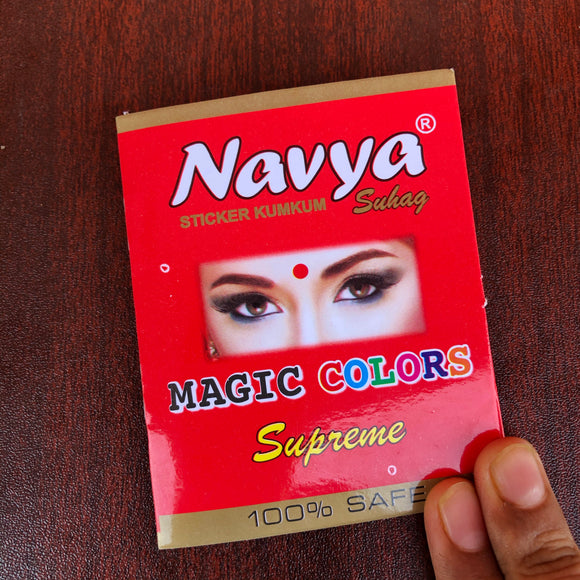 Bindi Sachet (small size bindis)