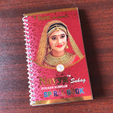 Stones studded Bindi Book
