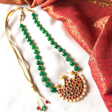 Megha- with Agate  beads