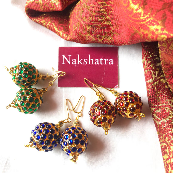 Single Rudraksha hangings (colors available)