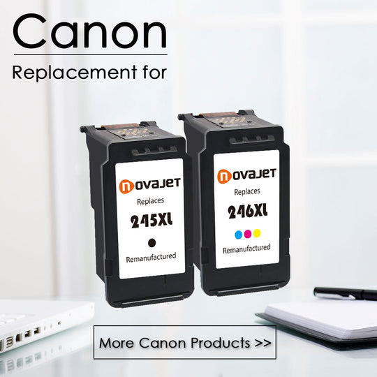 Novajet Remanufactured Ink Cartridges For Canon