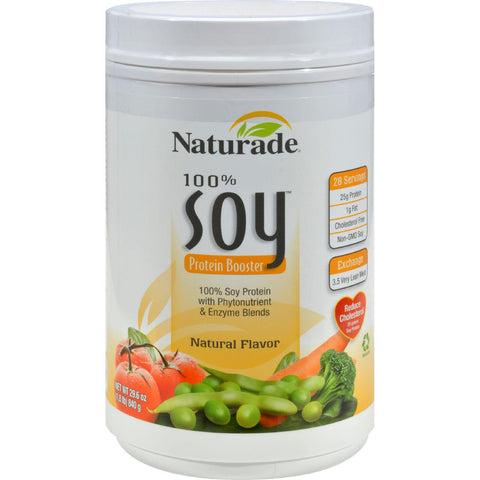 Naturade Soy Protein Booster Natural - 29.6 Oz