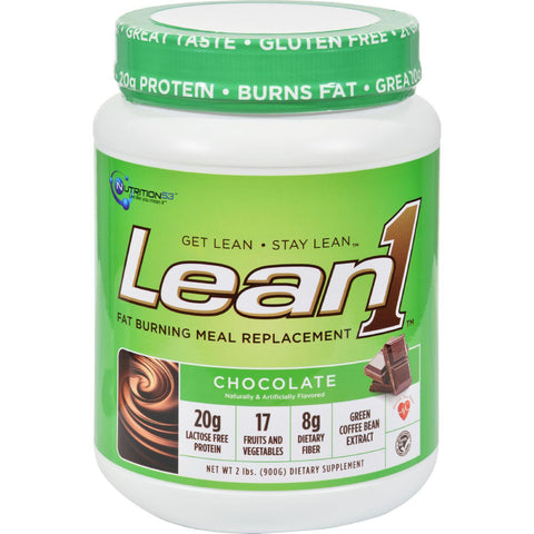 Nutrition53 Lean1 Nature's Performance Shake - Chocolate - 2 Lbs