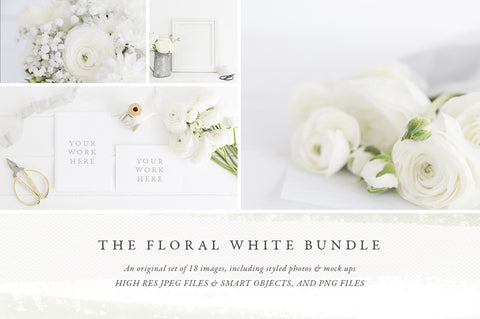 The White Floral Bundle