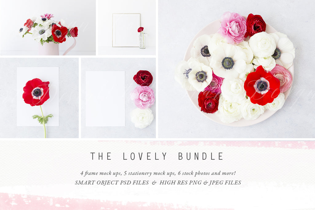The Lovely Mock up Bundle