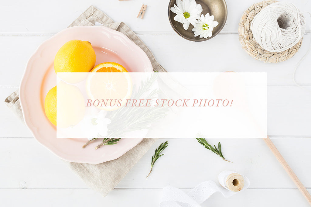 Card mockup BUNDLE - Recipe cards and foodie theme