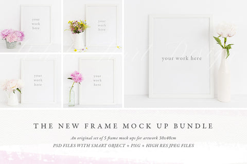 The NEW Frame mock up BUNDLE