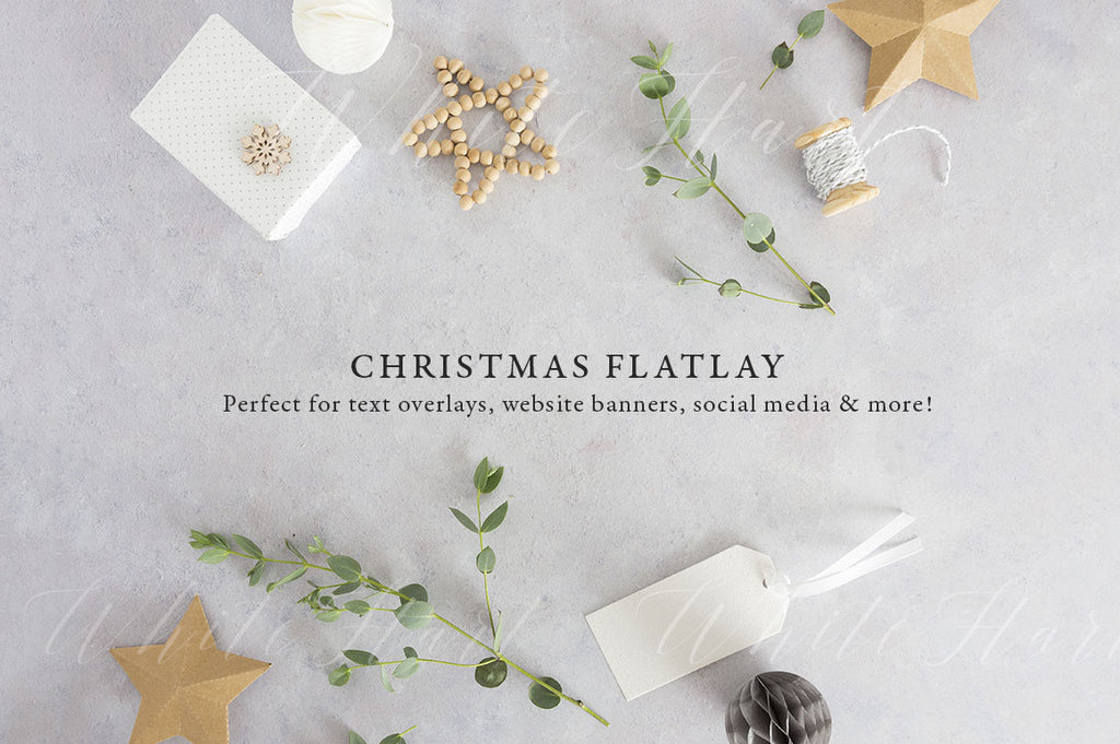 Christmas styled stock photo + 1 free bonus image!