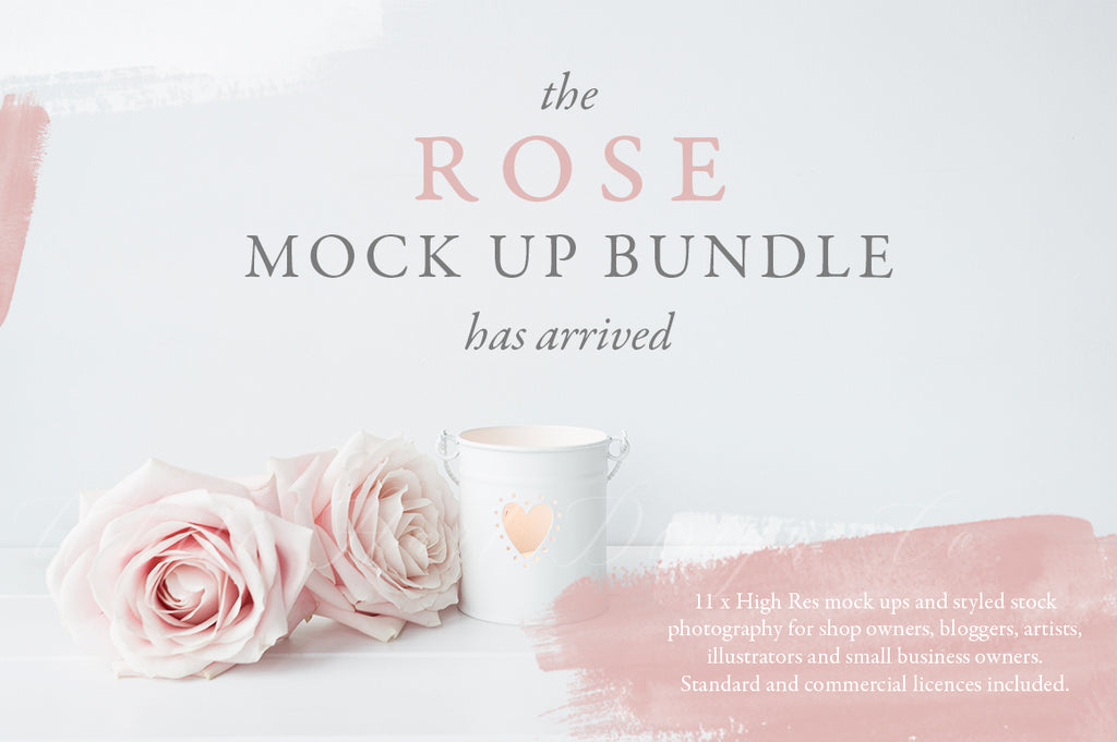 The Rose Mock up Bundle
