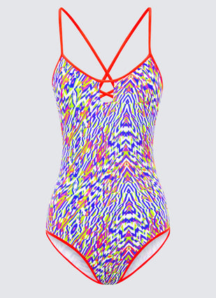 Neon Tribe Tri Strap One Piece