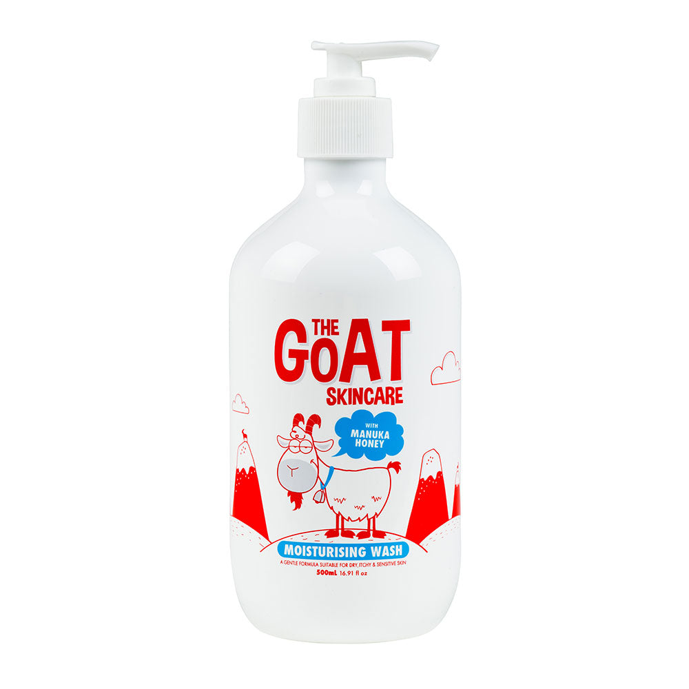 The Goat Skincare Moisturising Body Wash 500ml - Manuka Honey