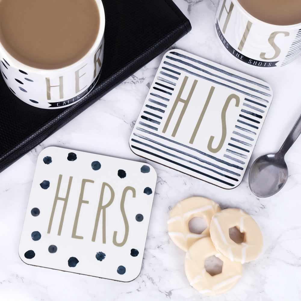 his and hers coasters