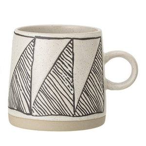 Black & White Patterned Mug - 4 styles to choose from