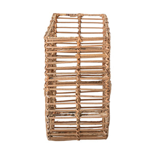 Rattan Wall Basket Magazine Holder