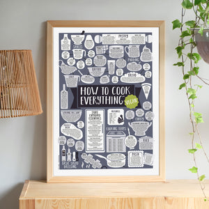 vegan kitchen print