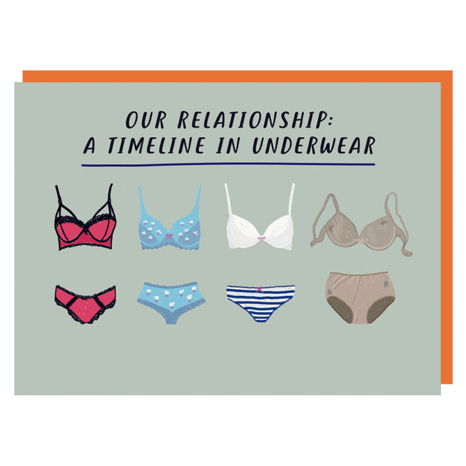 Underwear Timeline Truths Card