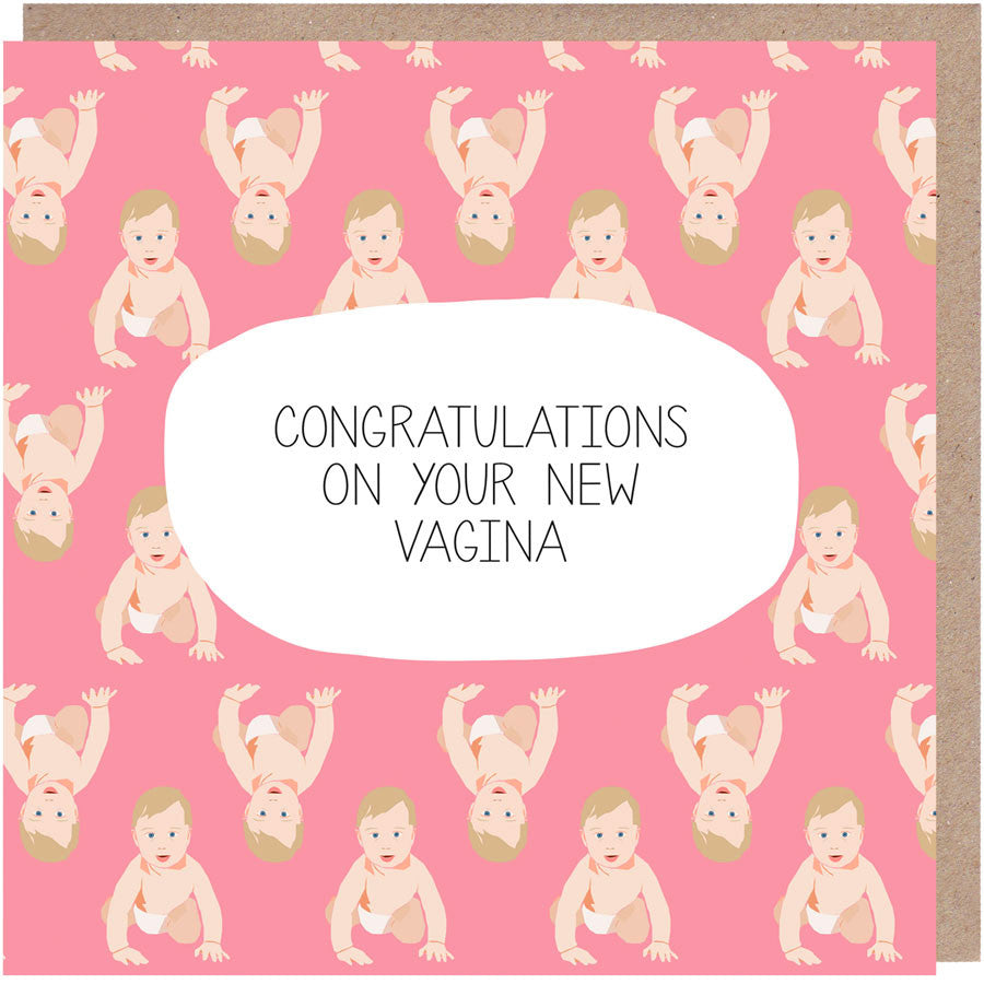 Congratulations on your new vagina card