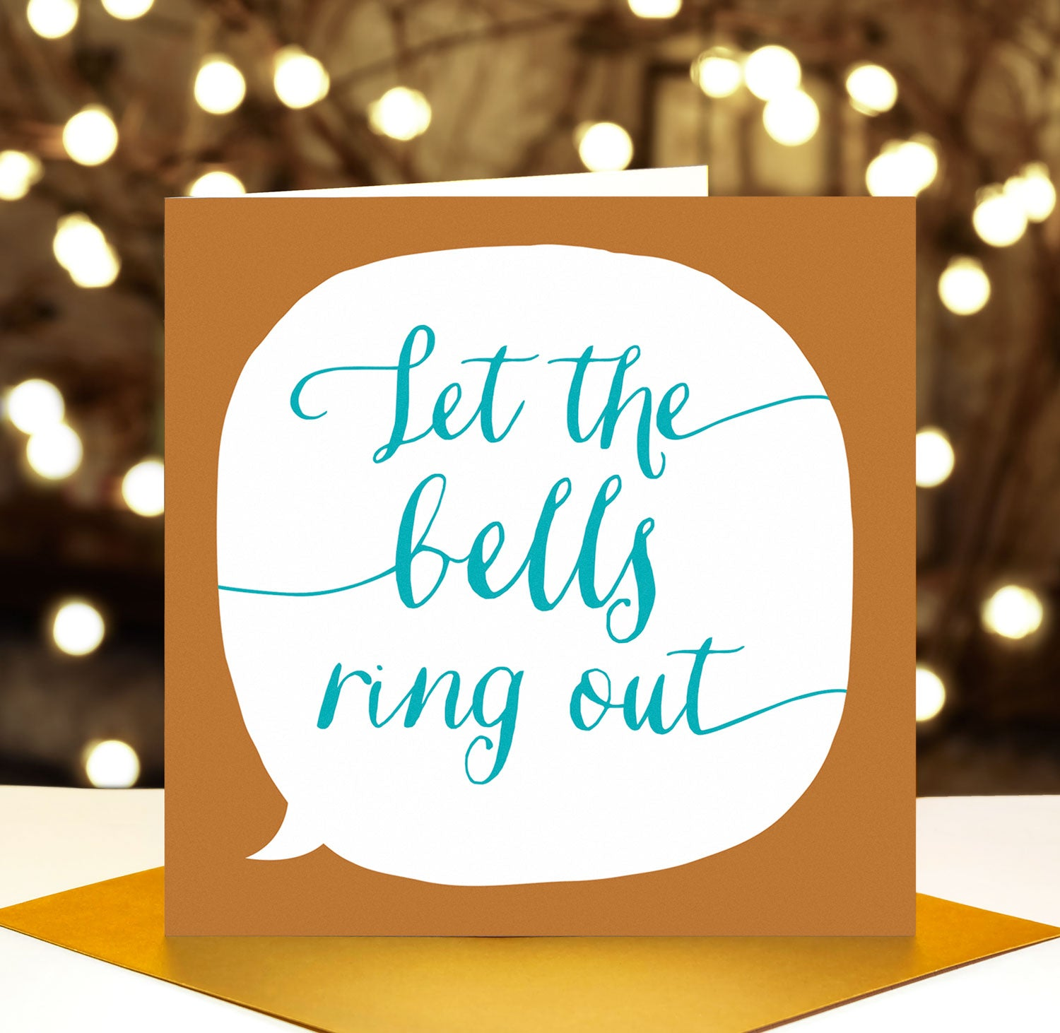 let the bells ring out song lyrics christmas card paper plane
