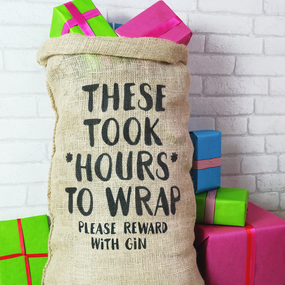 Reward With Gin Christmas Sack