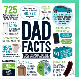 Dad Facts Card