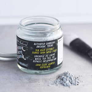 Natural Detox Clay Face Mask