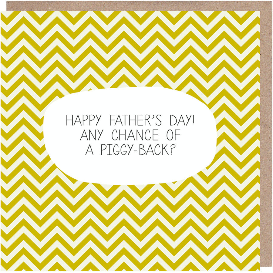 Favourite Taxi Driver Father\'s Day Card - Paper Plane
