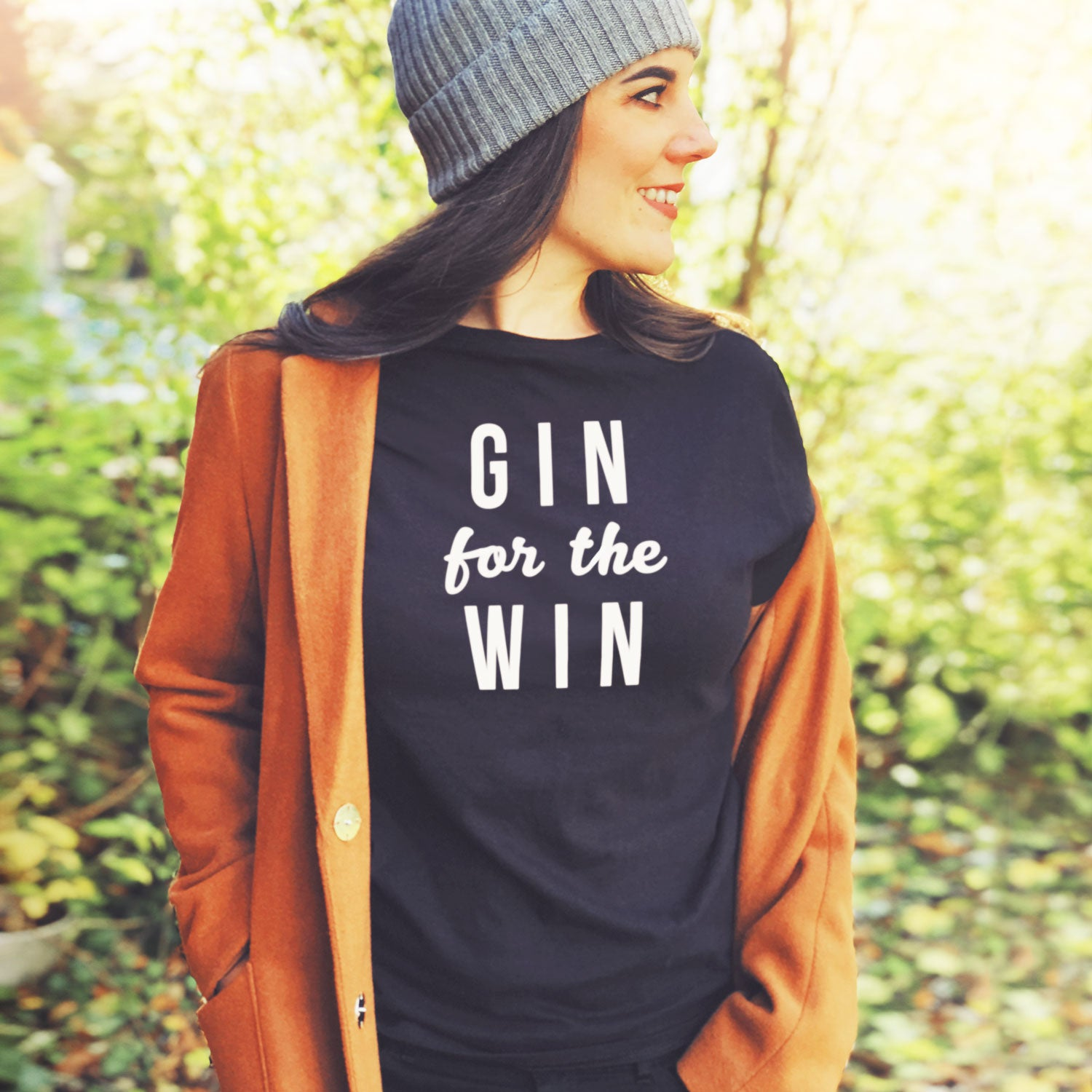gin for the win sweatshirt