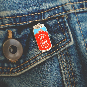 Ice Cool Craft Beer Pin