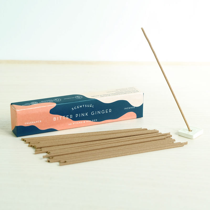 Bitter Pink Ginger Scentsual Incense