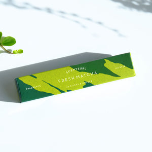 Fresh Matcha Scentsual Incense