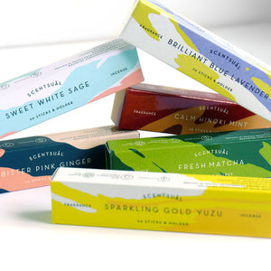 Sparkling Gold Yuzu Scentsual Incense