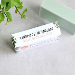 Lavender And Rosemary Vegan Solid Conditioner Bar