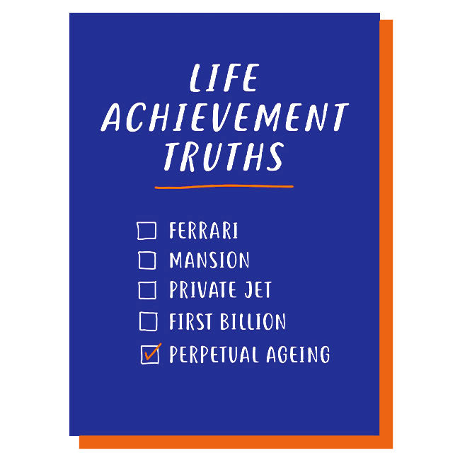 Life Achievement Truths Card
