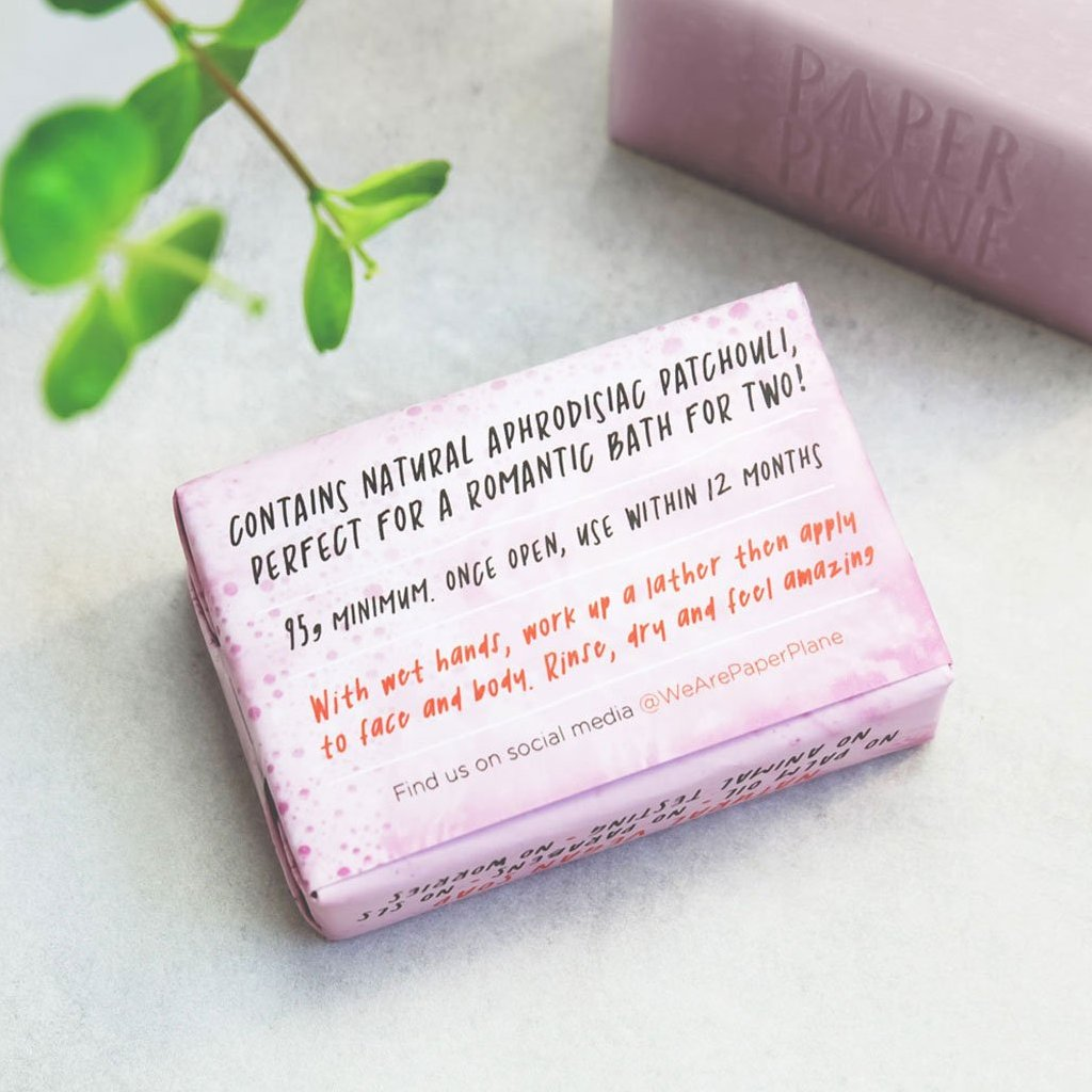 Lovers' Soap 100% Natural Vegan Plastic-free