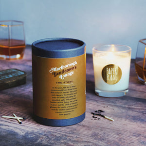 Tobacco leaf, honey and sandalwood candle