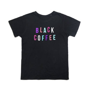 black coffee t shirt
